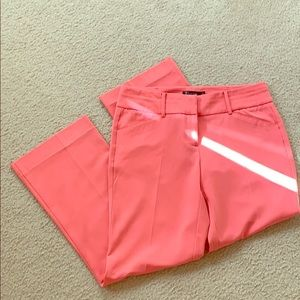 NY&Co pink trousers petite